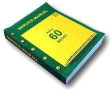 SERVICE MANUAL FOR JOHN DEERE MODEL 60 620 630 TRACTOR MASTER REPAIR COMPILATION