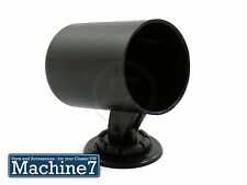Pressione OLIO TEMP GAUGE tachimetrico COPPA staffa di montaggio 52mm, Abiti VDO NERO