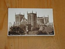 POSTCARD.   RIPON CATHEDRAL FROM SOUTH WEST