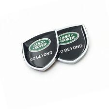 2PCS für Land Rover Range Body Auto Emblem Seitenfenster Fender Badge Aufkleber