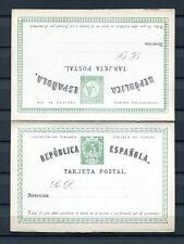 1873.ESPAÑA.ENTERO POSTAL.EDIFIL 2(*) .NUEVO..CATALOGO. 102 €