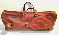 Vintage bordeaux red DONNAY tennis bag tas tasche sac collector's item
