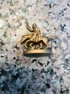 RISK Gold Calvary Horse Replacement Game Piece 2003 Vintage Parker Brothers