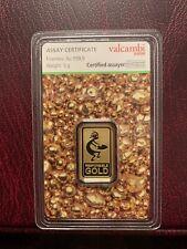 Gold Bullion Bar 5 Gram Valcambi Suisse Green Gold Simply Stunning