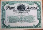 'Peoria Terminal Railway Co.' 1890 Railroad Stock Certificate - Illinois IL