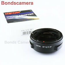 Kipon Auto Focus AF Adapter for Canon EOS EF Lens to Sony E NEX 7 6 A7 A7R A6000