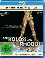 DER KOLOSS VON RHODOS (Regie: Sergio Leone) Blu-ray Disc + Bonus-DVD NEU+OVP