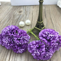 Silk Noble Daisy Artificial Flower For Wedding Party Home Decoration Flower