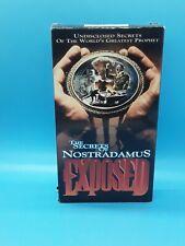"VHS ""The Secrets of Nostradamus Exposed"""