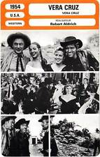 FICHE CINEMA : VERA CRUZ - Cooper,Lancaster,Montiel,Aldrich 1954