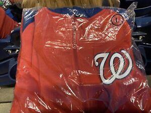 Washington Nationals LARGE Zip-Up Jacket: September 13 2021 New in Wrapper SGA