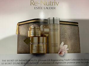 Estee Lauder Re-Nutriv Ultimate Lift Regenerating Youth Eye Cream 4 PC Gift Set