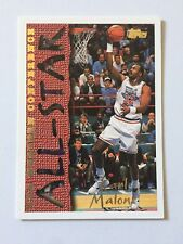 1994 Topps NBA Basketball Card - Utah Jazz #185 Karl Malone