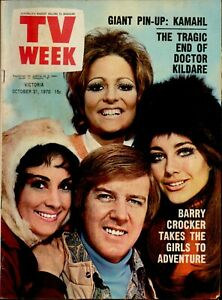 TV Week Magazine - October 31, 1970 - Rare 1970s Australian Television Mag