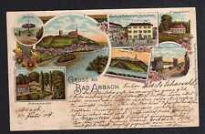 97915 AK Bad Abbach 1904 Litho Gasthof Restaurant Kraml Frauenbründel Kapfelberg