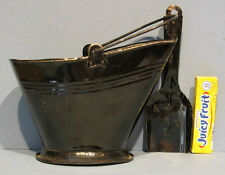 "OLD TIN TOY COAL HOD with ORIG SHOVEL * 4 1/2"" HI * NICE COND. & NOW ON SALE* T9"