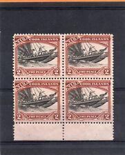 Niue GV 1932 block 2d black & red-brown sg 57 VLH.Mint/H.Mint