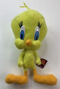 "Looney Tunes TWEETY BIRD 14"" plush Nanco 2001 Warner Brothers with Original Tags"