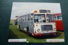 B044 RED WHITE LAX101E Bristol Bus Photo