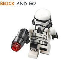 Lego Minifig Personaggio Star Wars Sw914 Imperial Patrol Trooper Blaster