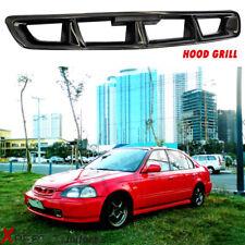 Fits 1996 1997 1998 Honda Civic JDM Front Hood Grill Grille MUG Black