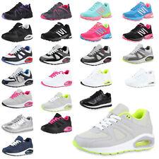 Damen Sportschuhe Laufschuhe Fitness Sneaker Freizeit Schuhe Schnürer 75031 Top