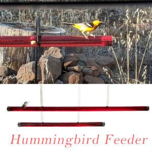 Anna's Best Hummingbird Feeder Hole Feeding Pipes Birds Easy to Use HOT