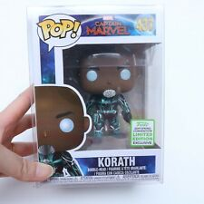 FUNKO POP CAPTAIN MARVEL 437 KORATH 2019 SPRING CONVENTION LIMITED EDITION