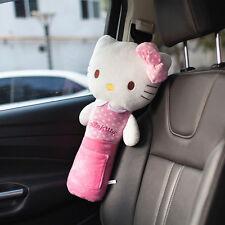 New Hello Kitty Lengthen Car Seat Belt Seatbelt Covers Pink