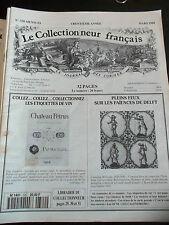 Le collectionneur Français N) 320 Les étiquettes de vin Faïince de Delft