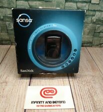 Sansa Clip SanDisk 1GB MP3 Player FM Radio Voice Recorder Black Brand New SEALED