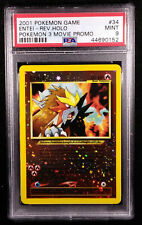 PSA 9 Entei Reverse Holo Wizards Black Star Movie Promo MINT Card 2001