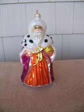 "Christopher Radko ""Winter Dream Santa"" Christmas Ornament- 96-250-0"