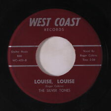 SILVER TONES: Louise, Louise / Midnight Thunder 45 Oldies