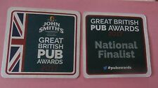 John Smith's Brewery in Tadcaster Great British Pub Awards New Coaster Beer Mat