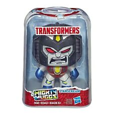 Transformers Mighty Muggs STARSCREAM #04 Hasbro Vinyl Figure Designer Toy NEW