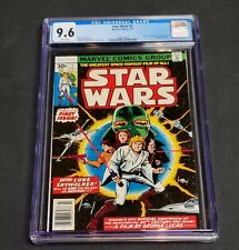 Marvel 1977 Star Wars #1 First Printing CGC 9.6 White Pages