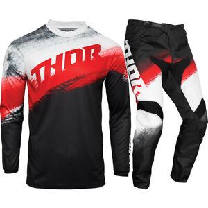 Thor MX 2021 Sector Vapor Red/Black Motocross Gear Set