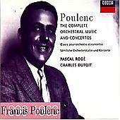 Poulenc: The Complete Orchestral Music & Concertos. Dutoit (1998) 3 CD set