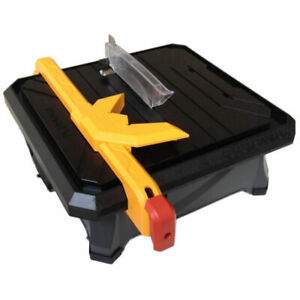 Plasplugs DWW550 180mm Pro Tiler XL Wet Tile Cutter Saw Electric 240v 30mm Cut.