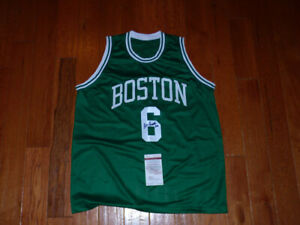 Bill Russell Signed Autographed Jersey JSA