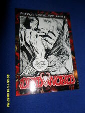 """2012 BREYGENT DEAD WORLD ZOMBIE CARD """" PLAYING HOUSE FOR A WHILE  """" #26"""