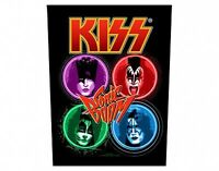 KISS sonic boom 2011 GIANT BACK PATCH - 36 x 29 cms gene simmons paul stanley