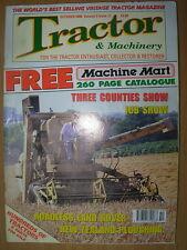 TRACTOR & MACHINERY MAGAZINE OCTOBER 2000 BAMFORD CLAYSON