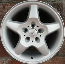 "CERCHIO IN LEGA MERCEDES ML 1°serie 8,5x17"" ORIGINALE A1634010402"
