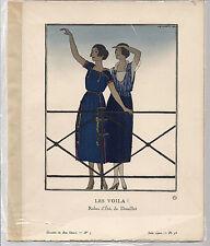 A.E. Marty Les Voila Gazette du Bon Genre No. 5 Juin 1920 Pl. 36