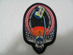 TOPPA - Patch  Ricamata - SPACE SHUTTLE STS-98 Atlantis Mission 2001 - Iron on
