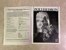 POLYHEDRON 1983 Issue 15 Volume 3 Number 6 RPGA Network TSR Newszine #T943