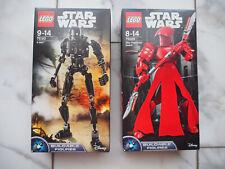 LEGO® Star Wars™ Figur 75120 K-2SO™ & 75529 Elite Praetorian Guard™ NEU & OVP