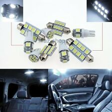 White LED Interior Light Kit 8 Bulbs FIT Hyundai Grand Starex H-1 i800 iMax W1